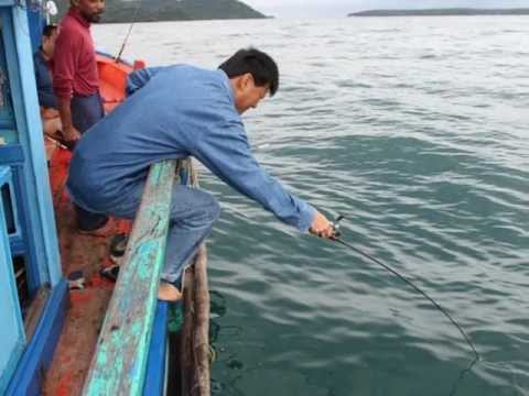 Fishing in Gulf of Thailand
