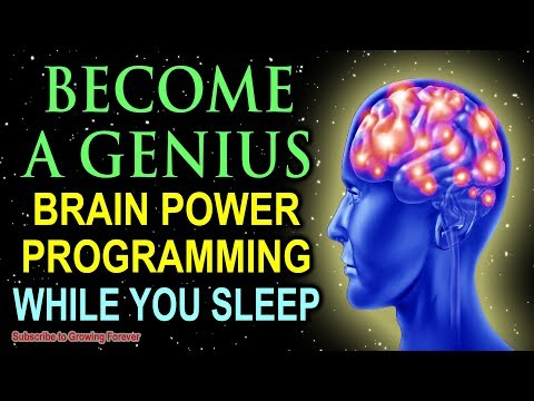 Become A GENIUS While You Sleep Genius Mindset Affirmations For Epic Mind And Brain Power