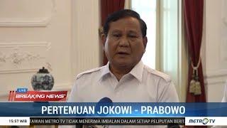 BREAKING NEWS - Pertemuan Jokowi - Prabowo