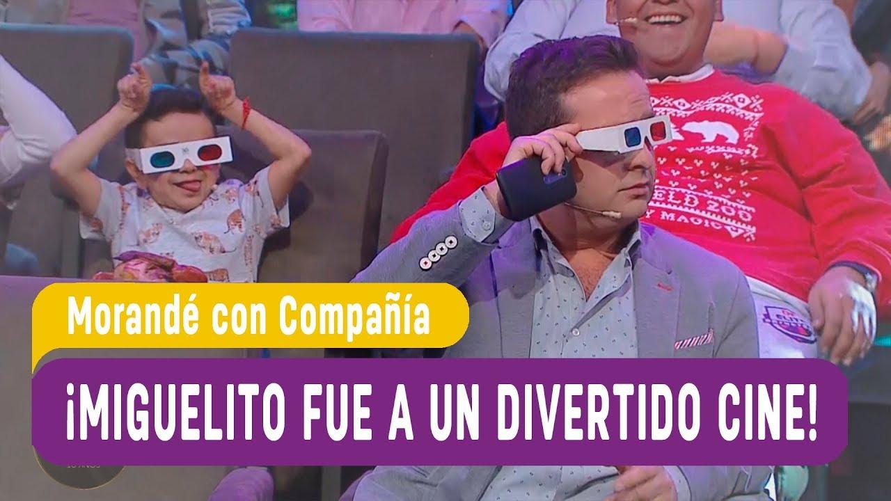 ¡Miguelito fue a un divertido cine! - Morandé con Compañía 2018