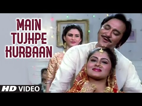 Main Tujhpe Kurbaan Full HD Song | Kurbaan | Sunil Dutt
