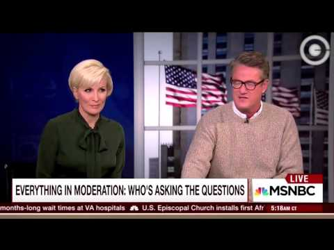 Joe Scarborough Calls Out Media for Liberal Bias