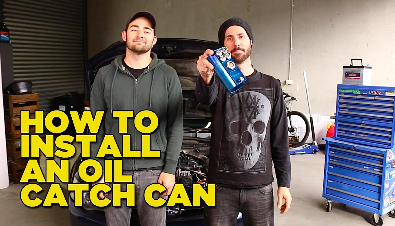 How To Install an Oil Catch Can  YouTube