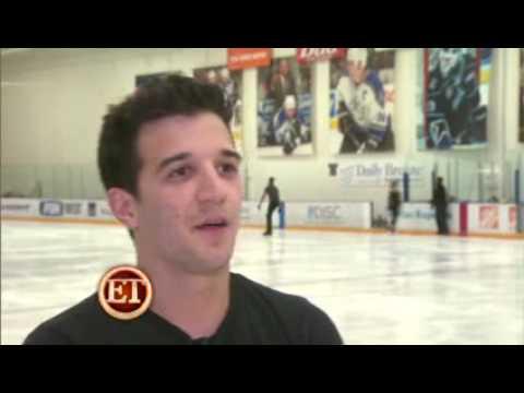 Evan Lysacek and Mark Ballas Sizzle on the Ice