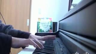 森山直太朗さんの大傑作選の楽譜集より。電子ピアノの機能でいろいろ試...
