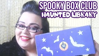 SPOOKY BOX CLUB | Haunted Library Box Unboxing