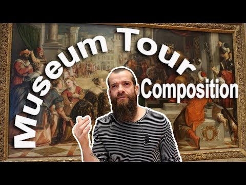 How to Compose Your Paintings. Cesar Santos vlog 045