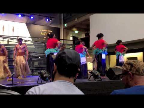 Fiji Youth Initiative FYI Meke dance group
