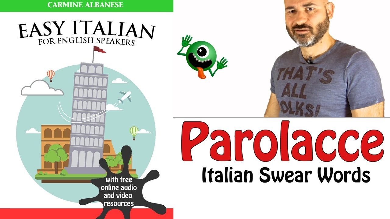 How to swear in italian video