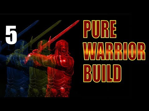Skyrim Pure Warrior Build Walkthrough SURVIVAL MODE, NO MAGIC Part 5: The Wild Road to Whiterun