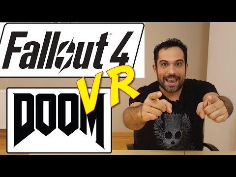 Fallout 4 y Doom - Juegos triple A (AAA) ya en Realidad Virtual -  E3 2016