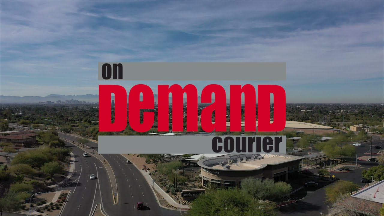 OnDemand Courier Promo