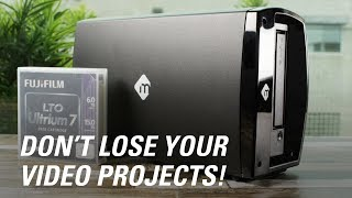 Backup & Archive Your Video Projects