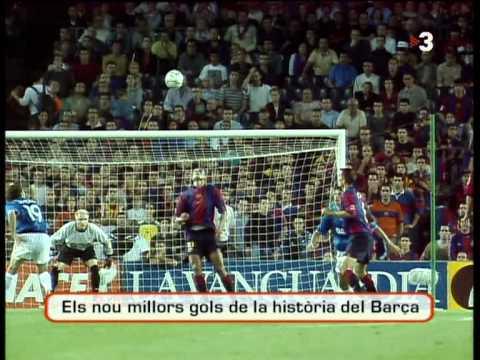 Top 10 FC Barçelona Goals thumbnail
