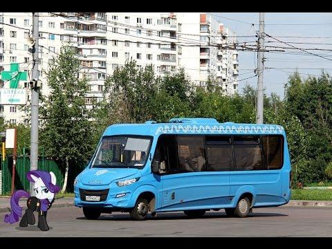Поездка на микроавтобусе IVECO Daily (Нижегородец-VSN700) О 954 ОХ 777 Маршрут № 487 Москва