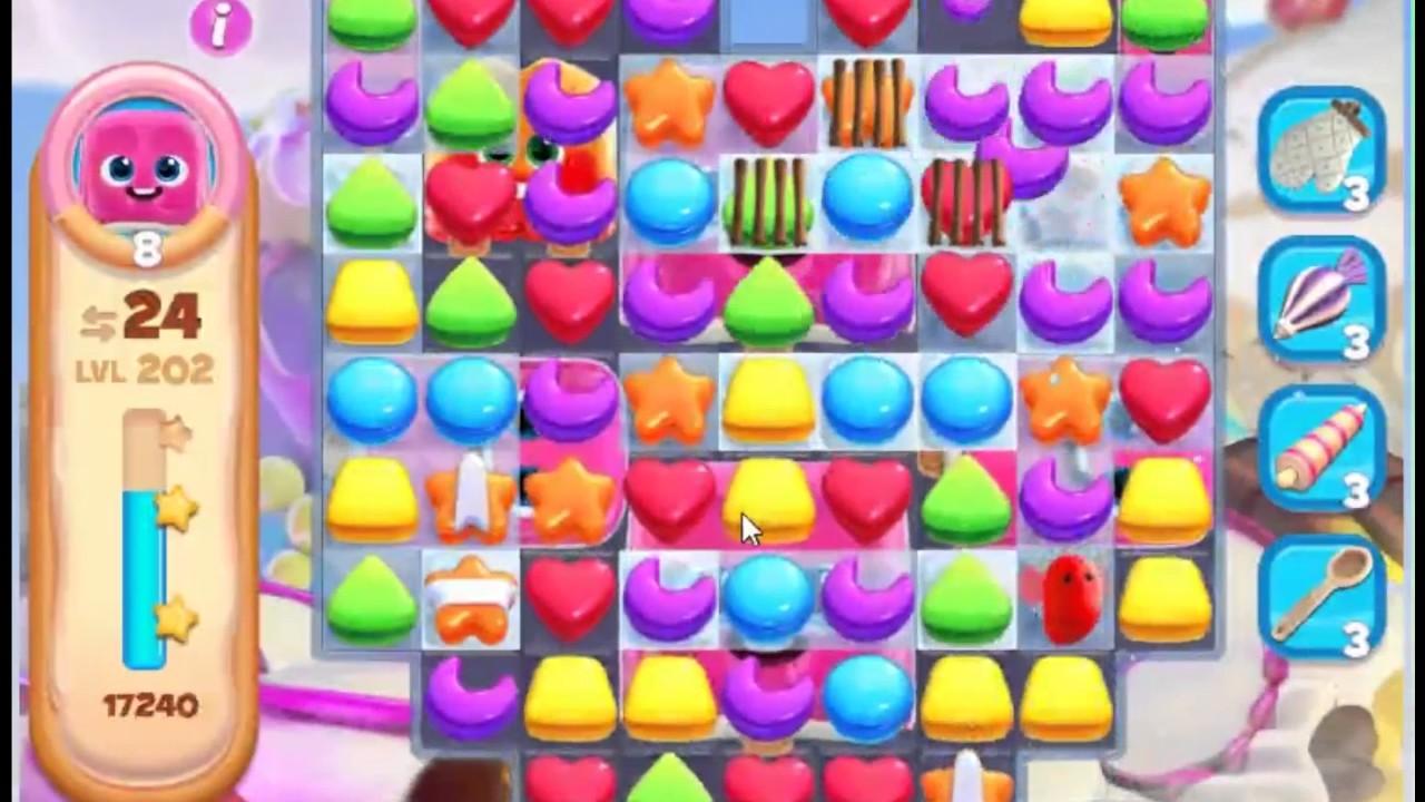 Levelbeater - How to beat Cookie Jam Blast Level 202