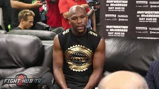 Floyd Mayweather on Paulie Malignaggi leaving Conor McGregor camp thumbnail