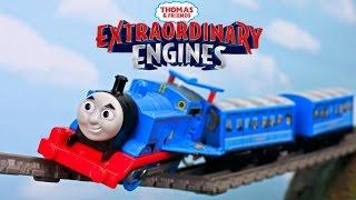 EXTRAORDINARY ENGINES|THOMAS AND FRIENDS TRACKMASTER WINGED THOMAS| Thomas the Tank Toy Trains
