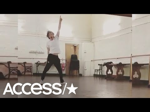 Mick Jagger Shows Off His Dance Moves 1 Month After Heart Surgery | Access