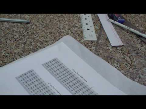 cec6345f6  درس رسم الباترون الأساسى لفستان طفلة من سن 3 سنوات إلى 12 سنة - الطريقة  الأولى - YouTube
