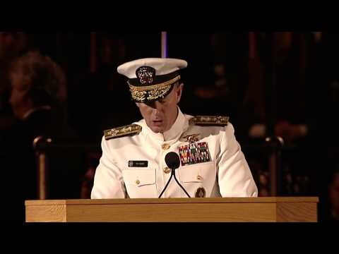 Admiral William H  McRaven - Never ring the bell - YouTube