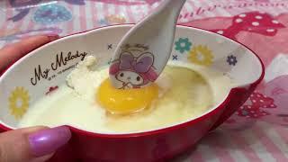 My Melody♥︎ マイメロディ×オーマイ マイ メロディのラブリーデコパンケーキ Pancake