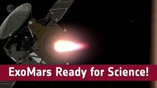 ExoMars is ready for science!