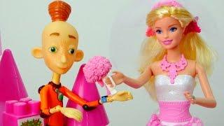 Мультики для девочек: наряжаем Барби - невесту