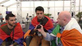 Eurovision Ireland Meets Aram MP3 from Armenia at Eurovision 2014