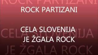 rock partyzani - cela slovenija je žgala rock