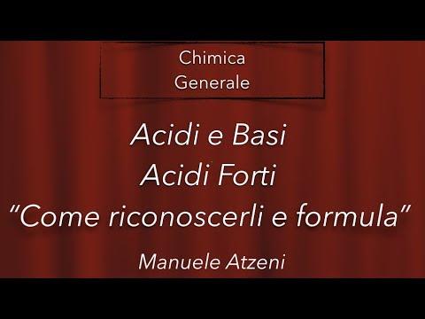 Chimica Generale (Acidi