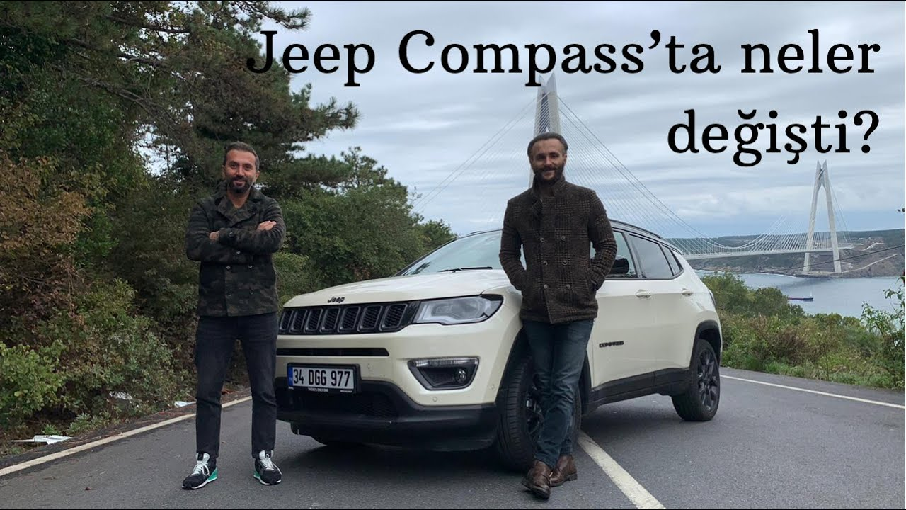 New 2021 Jeep Compass - compact SUV refreshed look