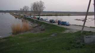 Во время нереста на платном озере!