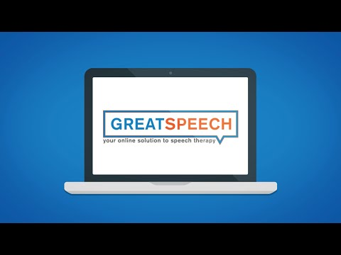 YouTube Video about how Great Speech online Therapy works