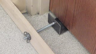 Classroom Door Intruder Lock // Homemade Science with Bruce Yeany