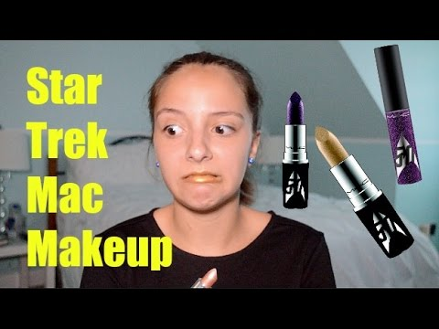 Star Trek Mac  Makeup collection Review + Swatches | Beauty with Lala thumbnail