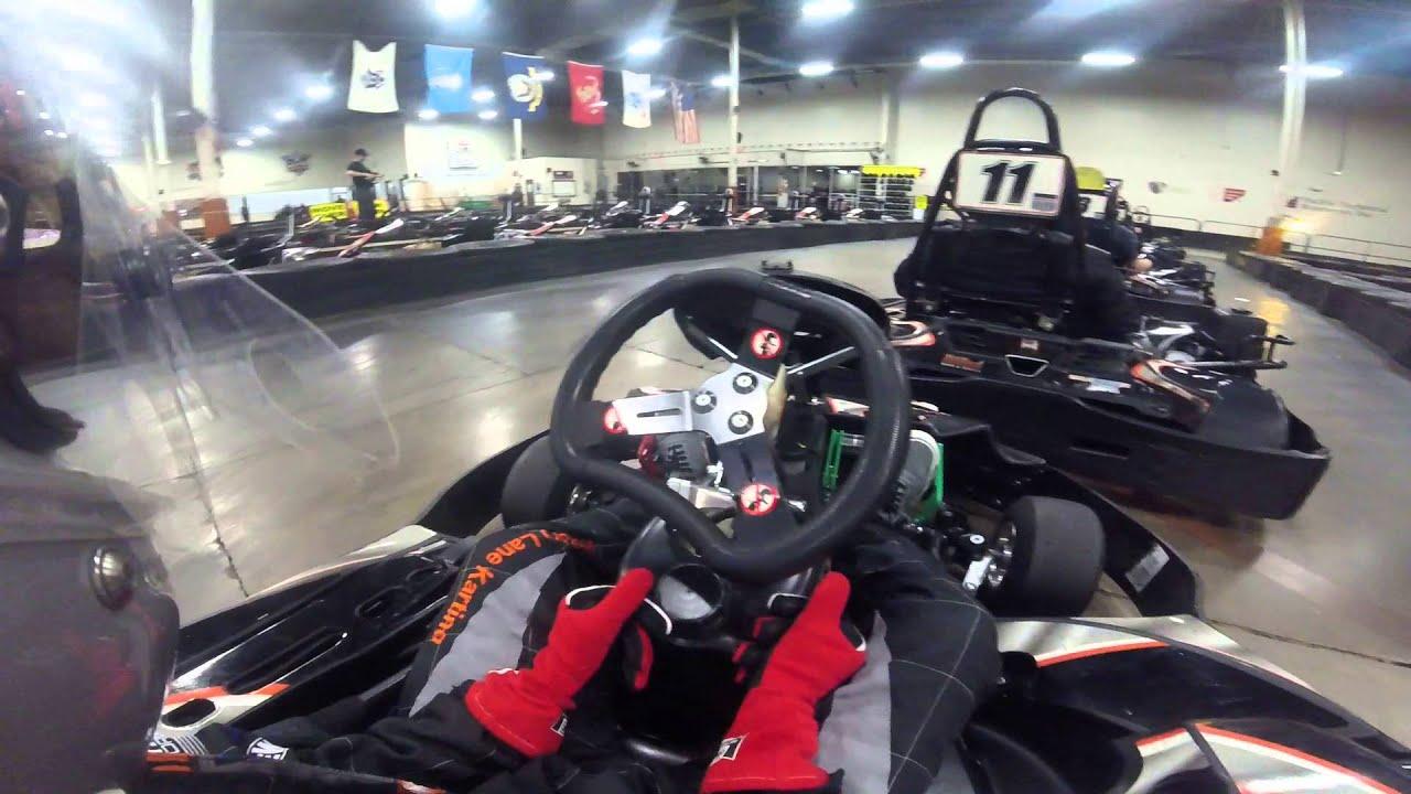 karting at victory lane karting charlotte NC - YouTube