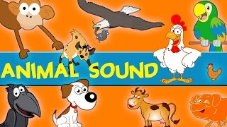 Animals Sounds | Sounds of the Animals Song | Learn Animal and Sounds of Animals
