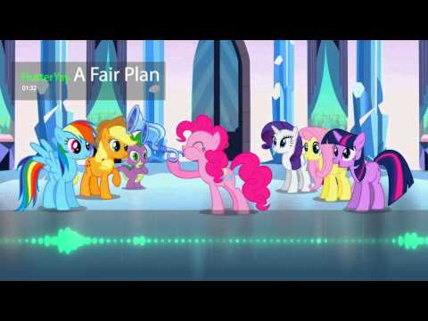 FlutterYay - A Fair Plan (Ballad Of The Crystal Empire Remix)