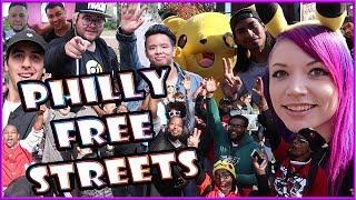 PHILLY FREE STREETS POKEMON GO with PkmnMasterHolly