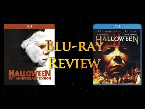 Halloween 35th Anniversary Digibook and Halloween II 30th Anniversary Edition Blu-ray Review!