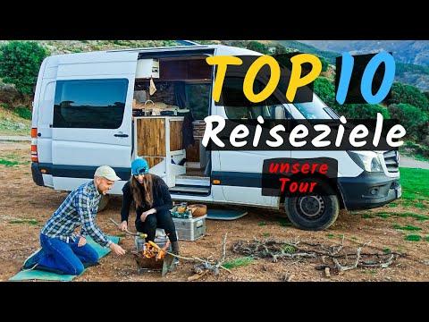 Vanlife Highlights unserer Europa Reise mit dem Wohnmobil | Unsere Route