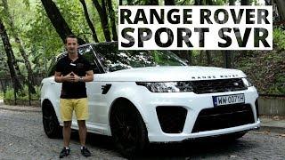 2,5-tonowy hot hatch! Range Rover Sport SVR