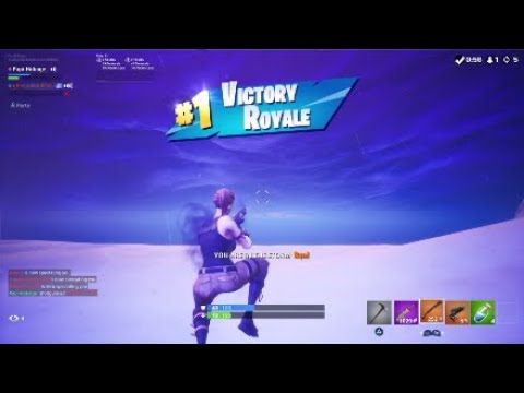 Fortnite Duo Win With My Bestfriend