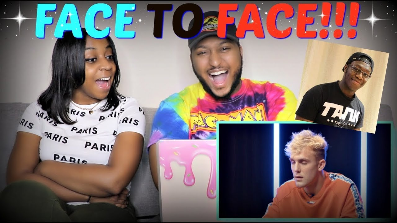 """Deji Vs. Jake Paul - FACE 2 FACE"" REACTION!!!"