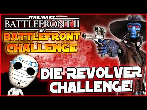 Revolver Challenge! - Loadout Challenge #16 - Star Wars Battlefront 2 Lets Play deutsch Tombie thumbnail