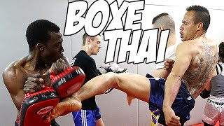 Muay Thai boxing - Hard Training with André Zeitoun