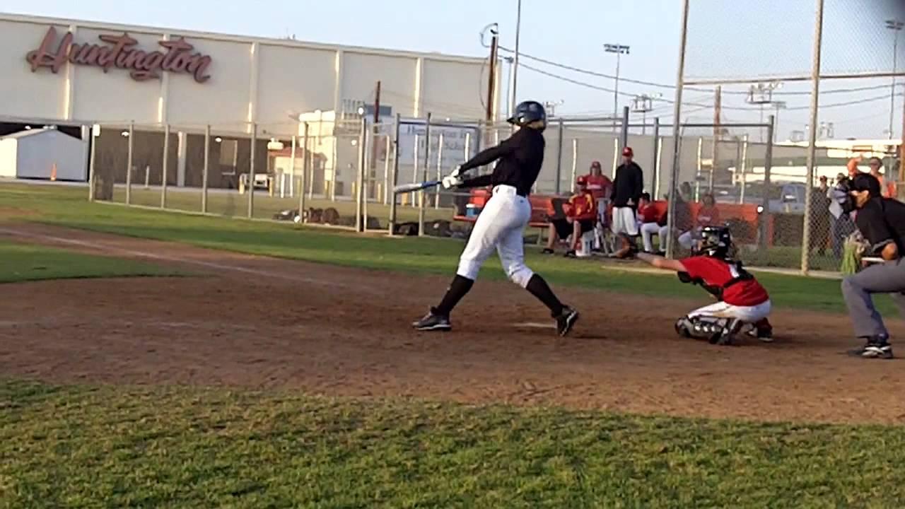High school baseball tryouts in Huntington Beach - YouTube