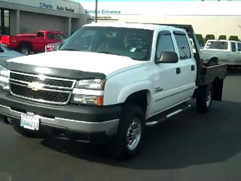 Sold 2006 Chevrolet Silverado 2500 Flat Bed Lt 4wd V1617a Youtube
