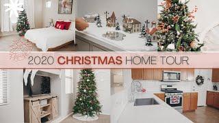 CHRISTMAS HOME TOUR 2020  MINIMAL HOLIDAY DECOR IDEAS FOR A COZY CHRISTMAS